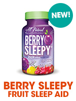 Berry Sleepy nutrition sleep aid at Bulu Box