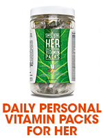 Simple Being HER Daily Personal Vitamin Packs from Bulu Box