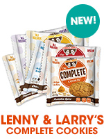 Lenny and Larry's vegan cookies are a healthy snack. Find them at Bulu Box