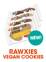 Rawxies Vegan Raw Cookies at Bulu Box