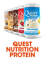 Quest Protein Poweder and bars and snacks