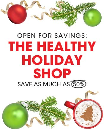 Shop healthy holiday gifts for everyone on your list.