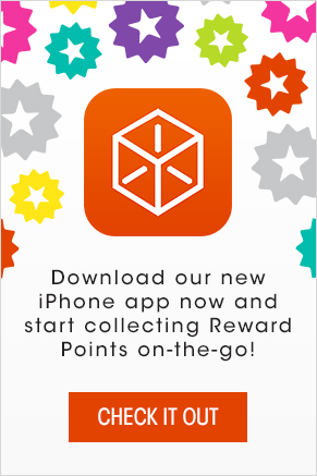Download our brand new Bulu Rewards app and start collecting Reward Points on-the-go!