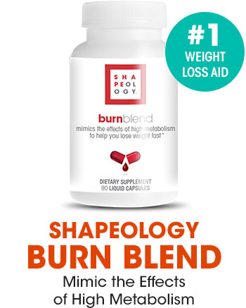 Mimic the effects of high metabolism with Shapeology Burn Blend